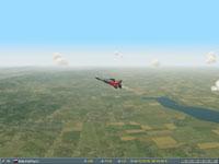 MIG-23 in air